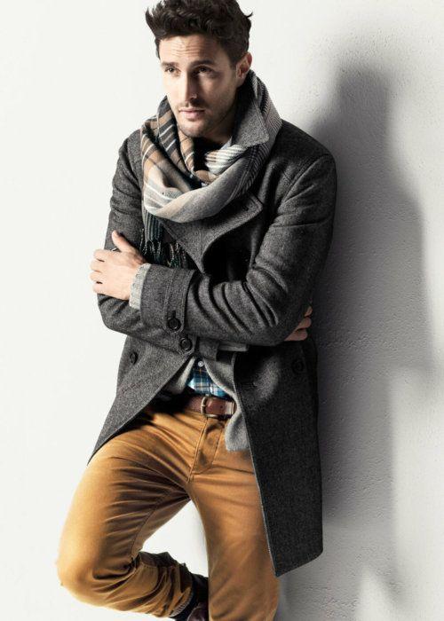 spodnie i marynarka, moda męska